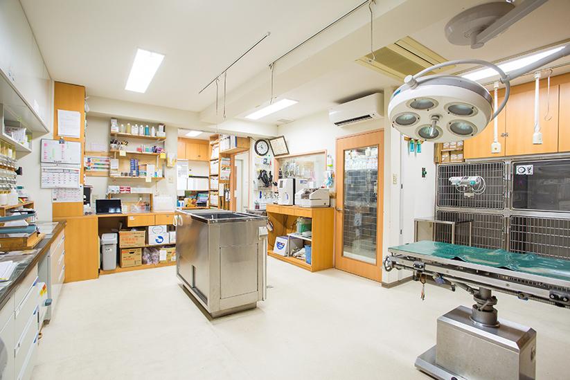 入院・手術設備の充実